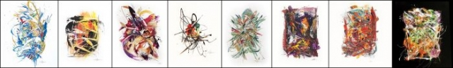 Amy Thornton Art Nucleus style paintings