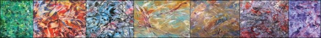 Amy Thornton Art Full-field style paintings