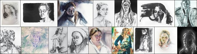 Amy Thornton Art History Self Portraits